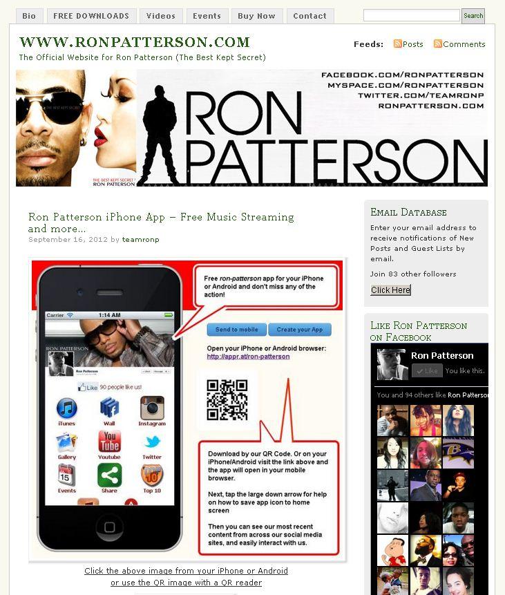 WWW.RONPATTERSON.COM