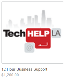 Tech Help LA Business Support 12 Hours