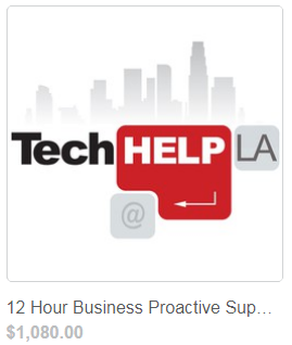 Tech Help LA Proactive Business Support 12 Hours