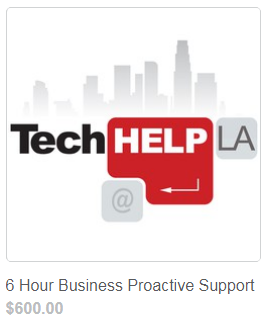 Tech Help LA Proactive Business Support 6 Hours