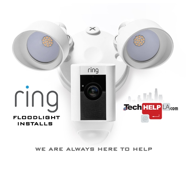 Ring Floodlight Installs - Tech Help LA