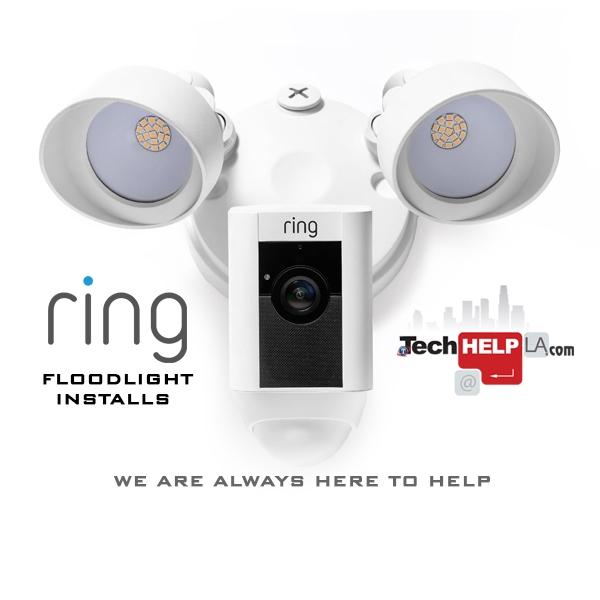 Ring Floodlight Installs - Tech Help LA